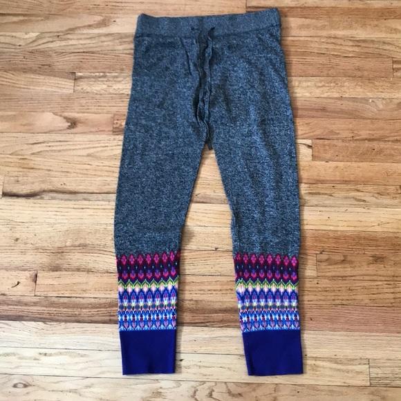 59% off GAP Pants - Gap fair isle leggings (PJ's) from Marie's ...